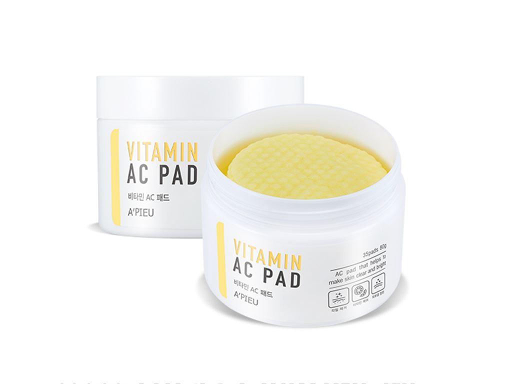 A'Pieu - Vitamin AC Pad - Witaminowe płatki z kwasami