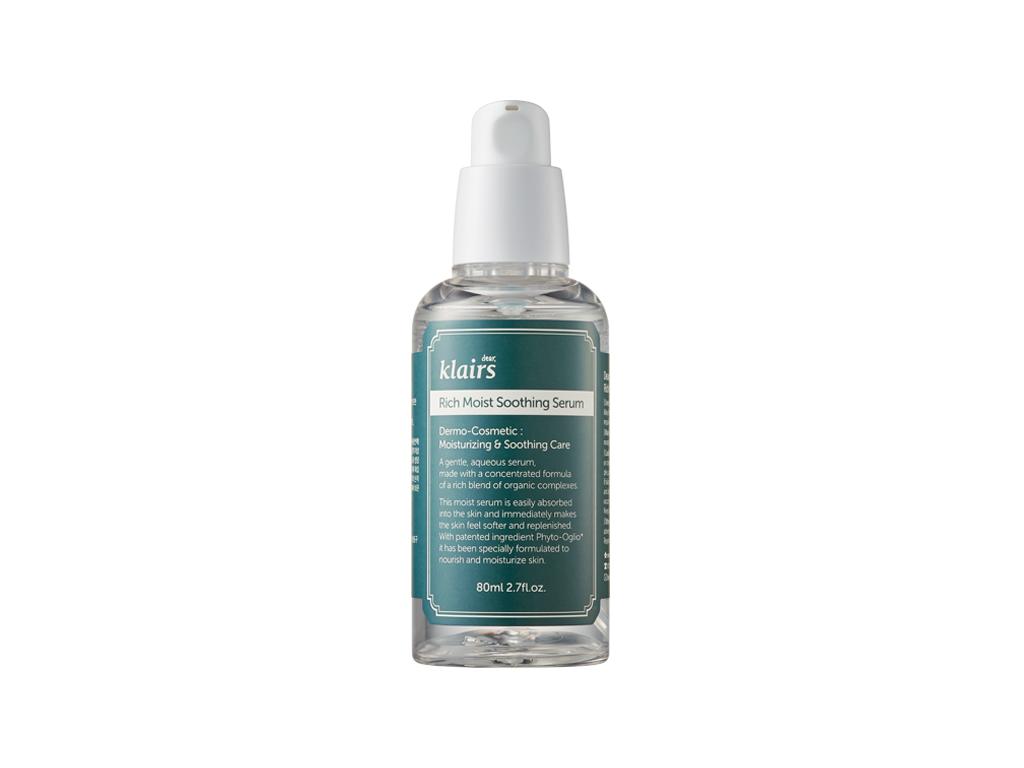 KLAIRS - Rich Moist Soothing Serum - Nawilżająco-łagodzące serum z kwasem hialuronowym