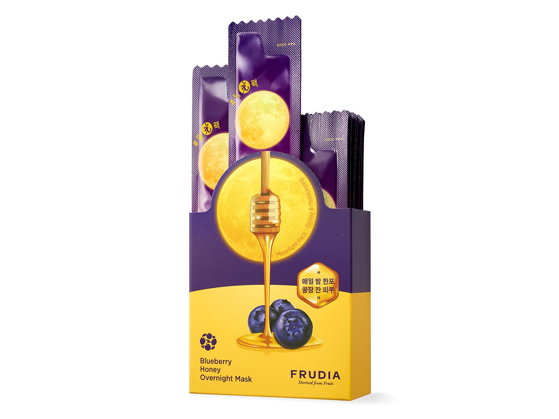 FRUDIA - Blueberry Honey Overnight Mask - Nawilżająca maseczka całonocna
