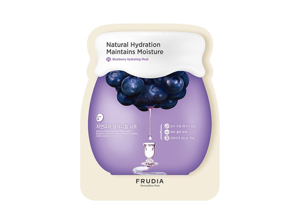 FRUDIA - Blueberry Hydrating Mask - Odżywcza i nawadniająca maska do twarzy na bazie jagód