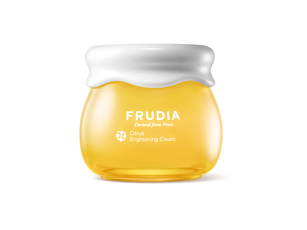 FRUDIA - Citrus Brightening Cream - Rozjaśniający krem do twarzy z witaminą C