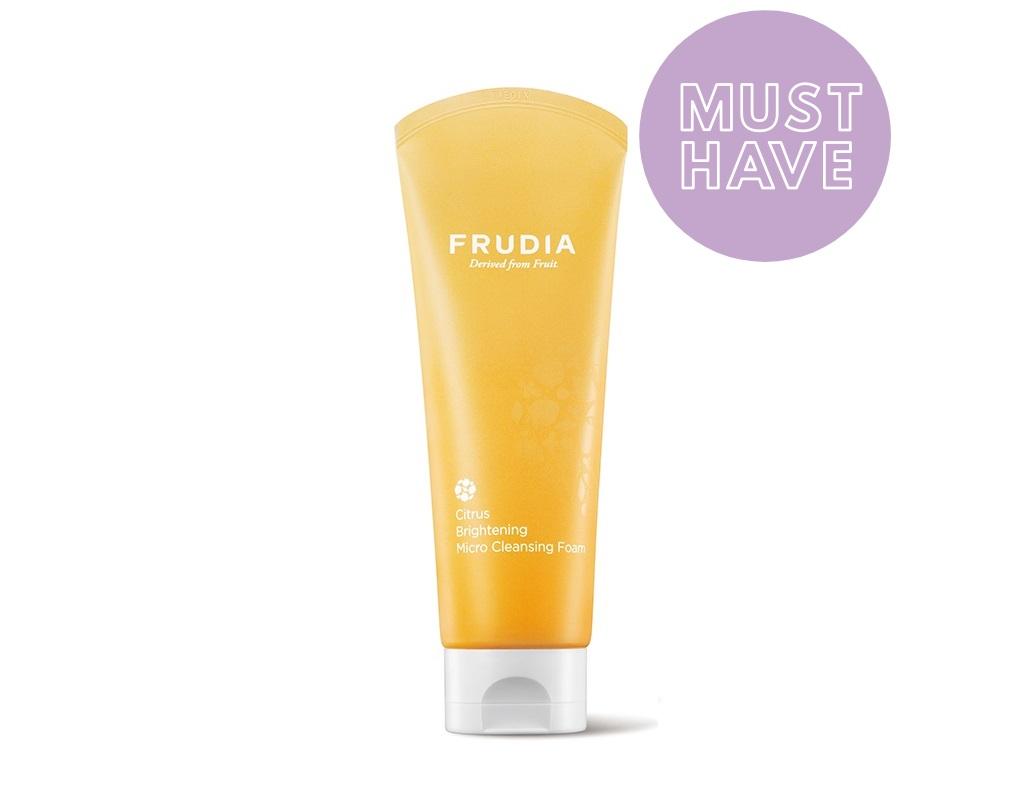 FRUDIA - Citrus Brightening Micro Cleansing Foam - Rozjaśniająca pianka z ekstraktu cytrusów