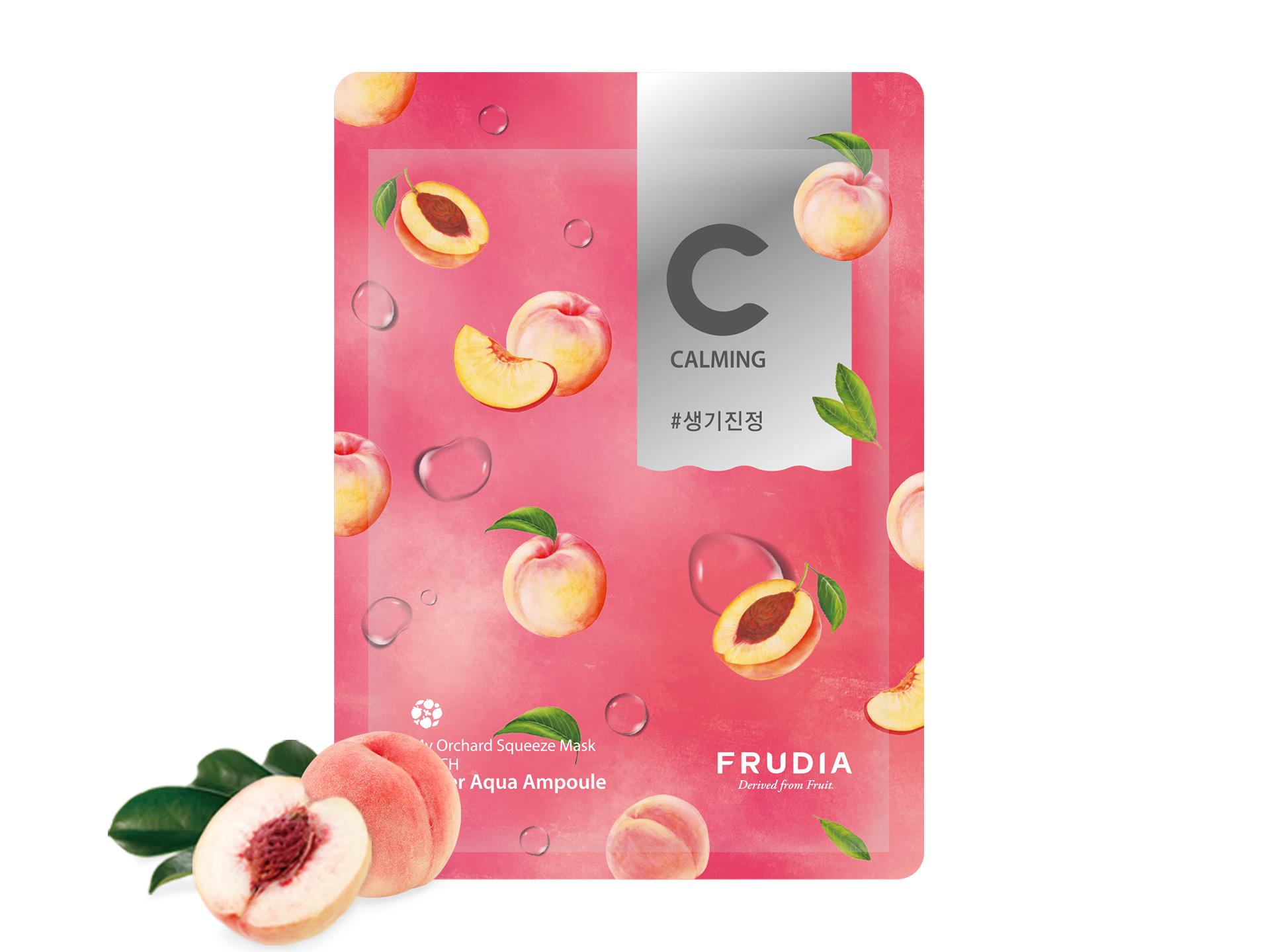 FRUDIA - My Orchard Squeeze Mask Peach - Rewitalizująca maseczka przywracająca skórze blask