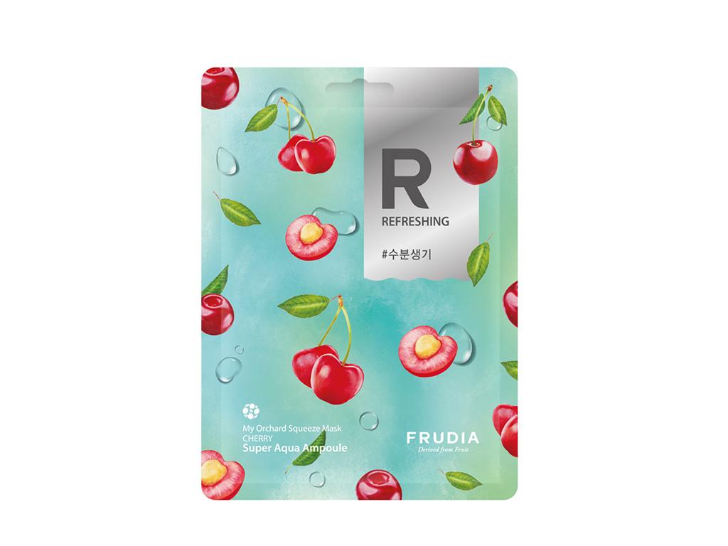 FRUDIA - My Orchard Squeeze Mask Cherry - Nawilżająco-rewitalizująca maska na bazie wiśni