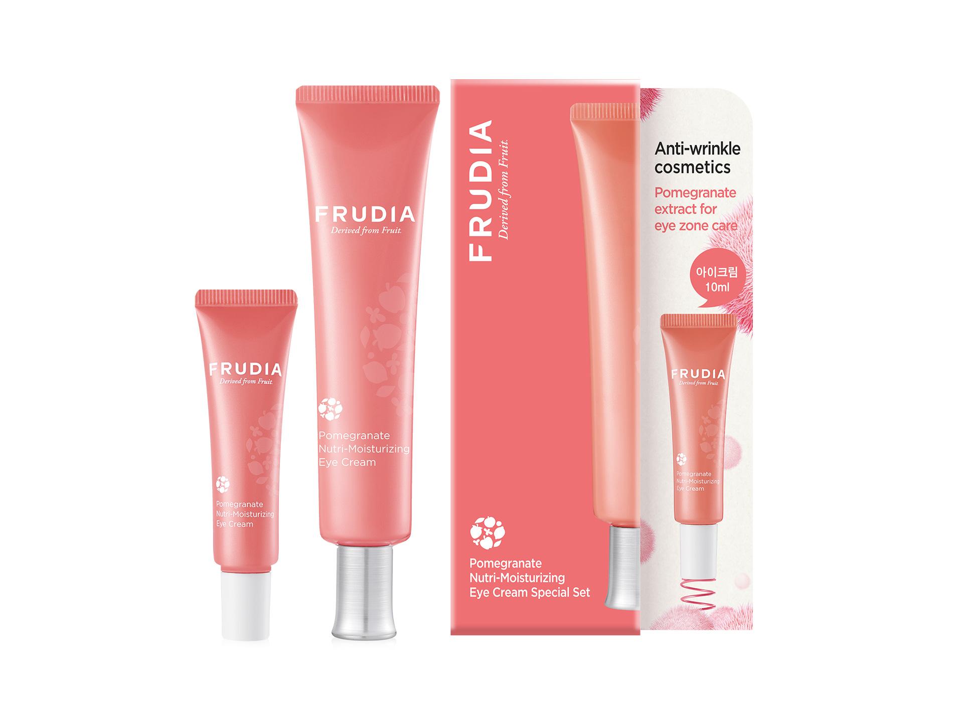 FRUDIA - Pomegranate Nutri-Moisturizing Eye Cream Special Set - Zestaw ujędrniających kremów pod oczy