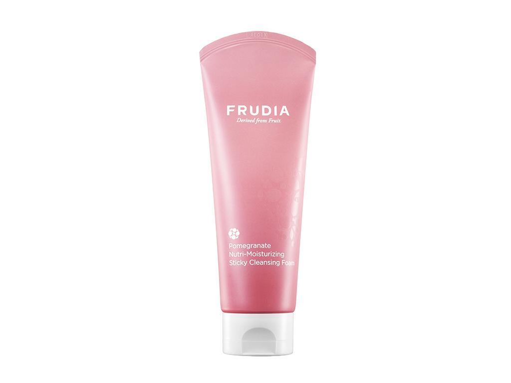 FRUDIA - Pomegranate Nutri-Moisturizing Sticky Cleansing Foam - Odżywcza pianka do twarzy z ekstraktem granatu