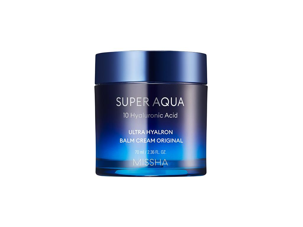 MISSHA - Super Aqua Ultra Hyalron Balm Cream Original- Intensywnie nawilżający krem z kwasem hialuronowym