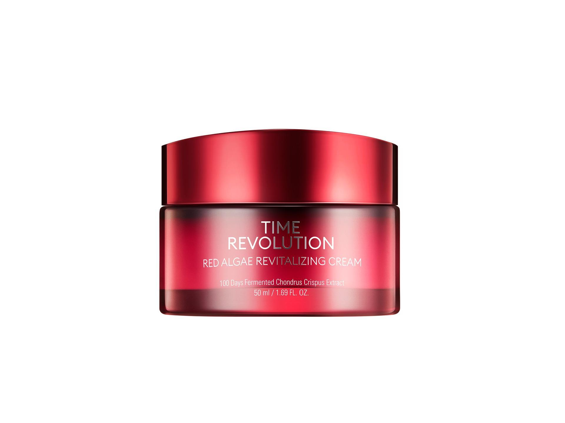 MISSHA - Time Revolution Red Algae Cream - Rewitalizujący krem do twarzy na bazie alg
