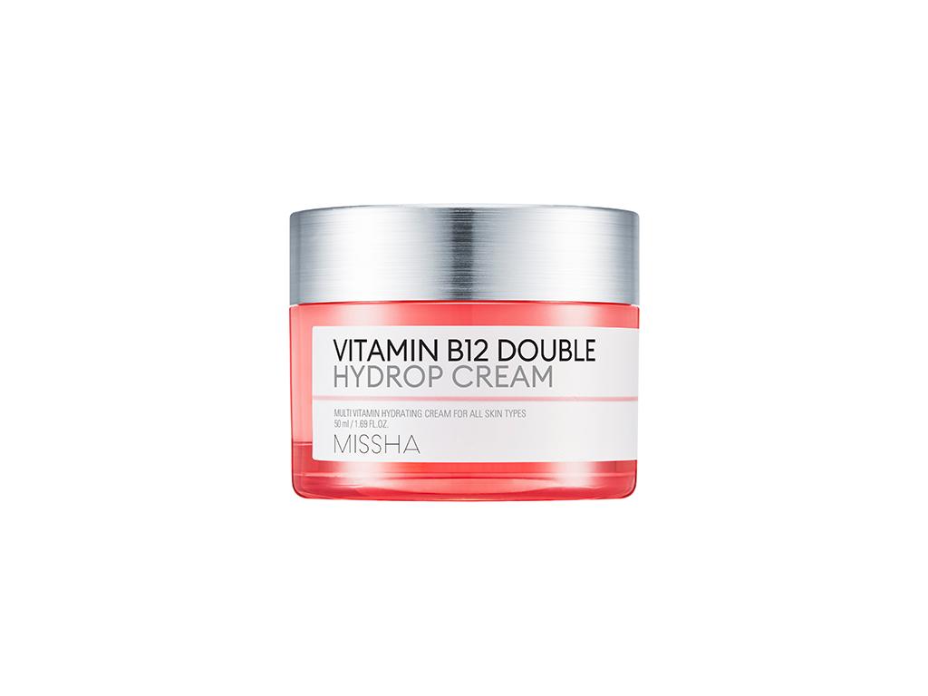 MISSHA - Vitamin B12 Double Hydrop Cream - Intensywnie nawilżający krem z witaminą B12