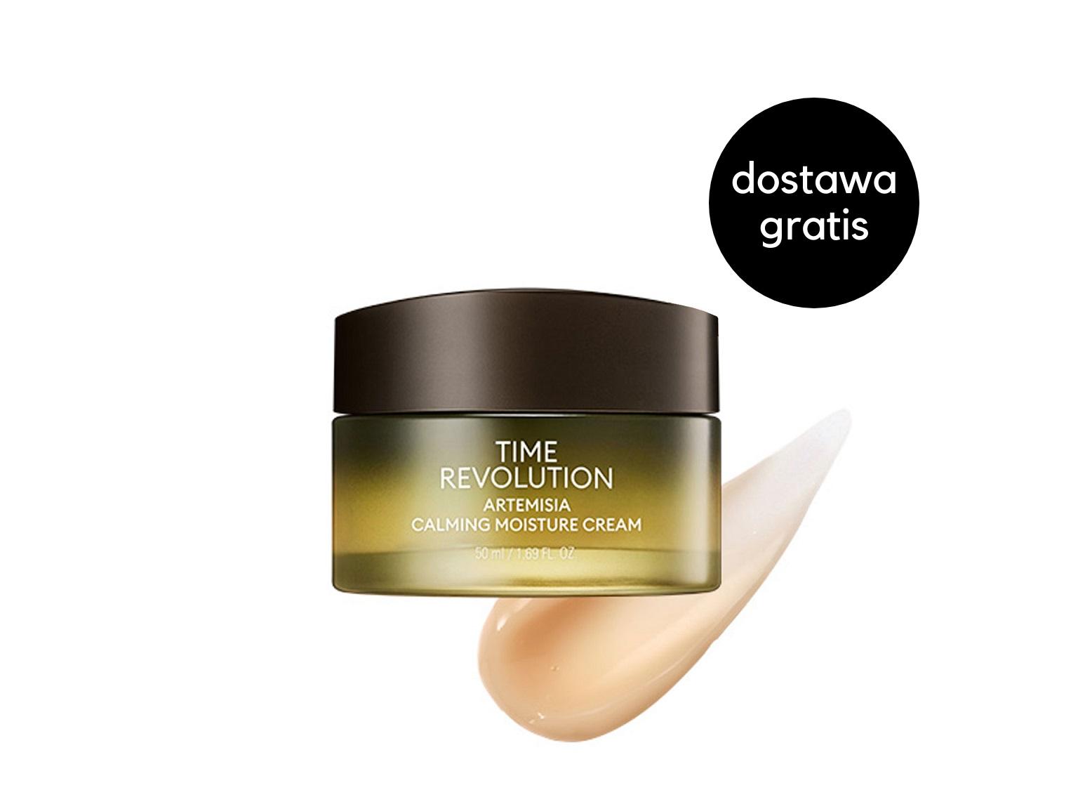 MISSHA - Time Revolution Artemisia Calming Cream - Regenerująco-nawilżający krem do twarzy
