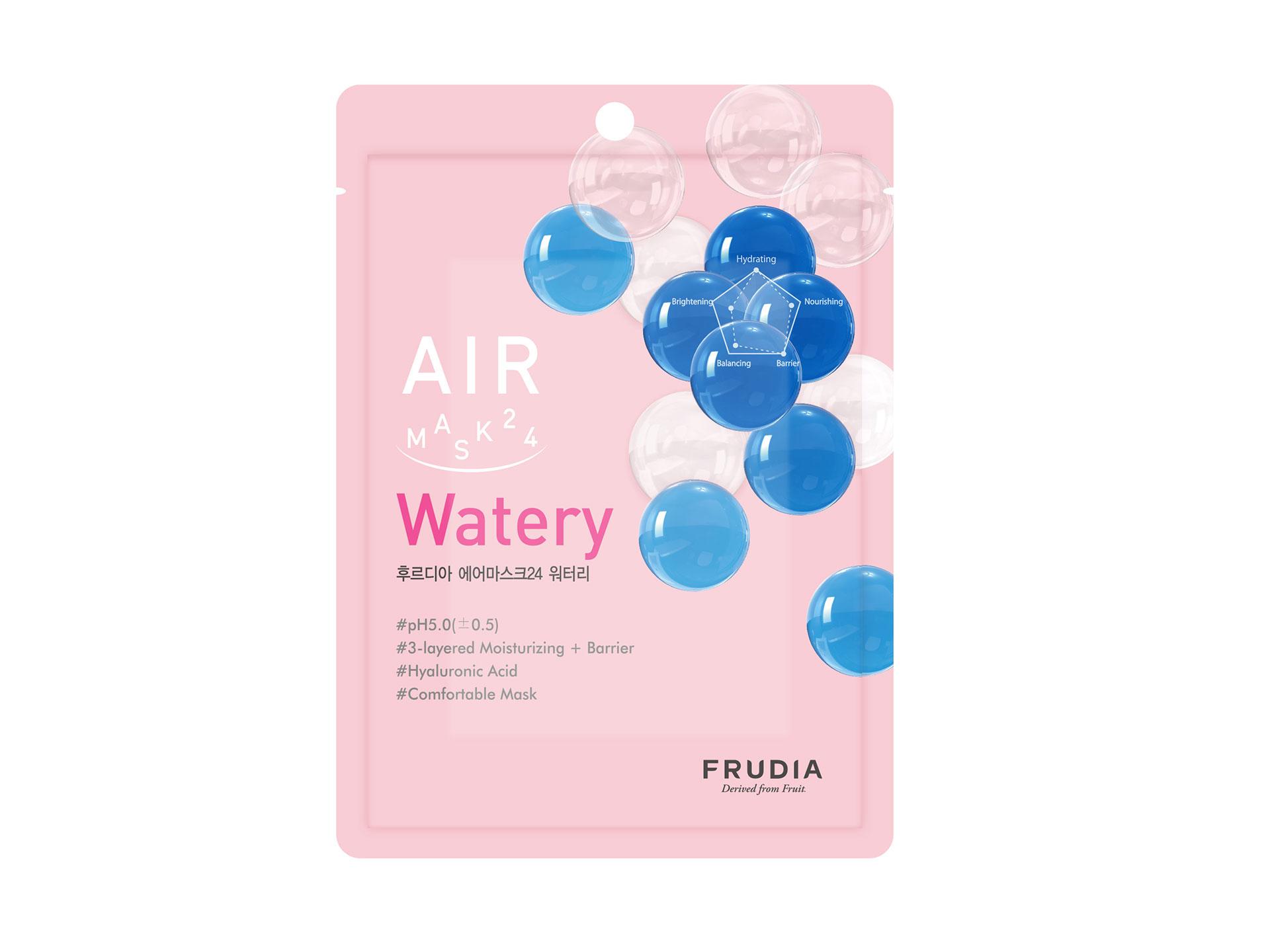 FRUDIA - Air Mask 24 Watery - Nawilżająca maska z kwasem hialuronowym