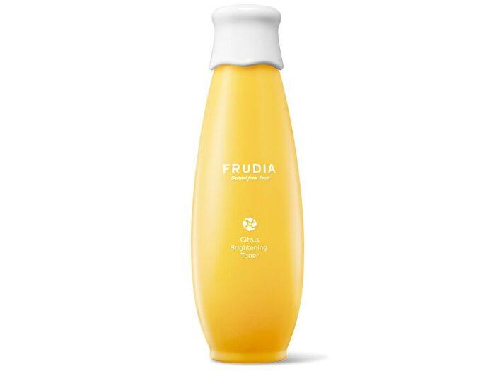 FRUDIA - Citrus Brightening Toner - Rozjaśniający i regenerujący tonik do twarzy z witaminą C